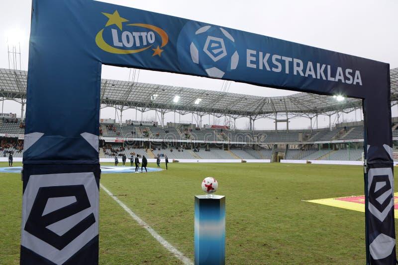 橄榄球:科罗纳凯尔采-维斯瓦普沃茨克 库存照片