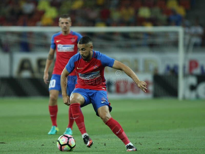 """橄榄球Romania's Liga 1†""""Steaua布加勒斯特†""""Concordia Chiajna 免版税库存图片"""