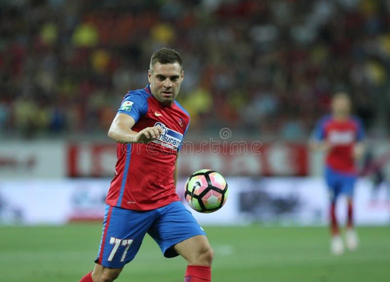 """橄榄球Romania's Liga 1†""""Steaua布加勒斯特†""""Concordia Chiajna 库存照片"""