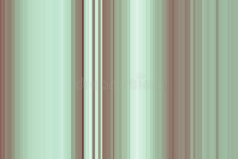 橄榄绿无缝的条纹样式 抽象背景例证 时髦的现代趋向颜色 皇族释放例证