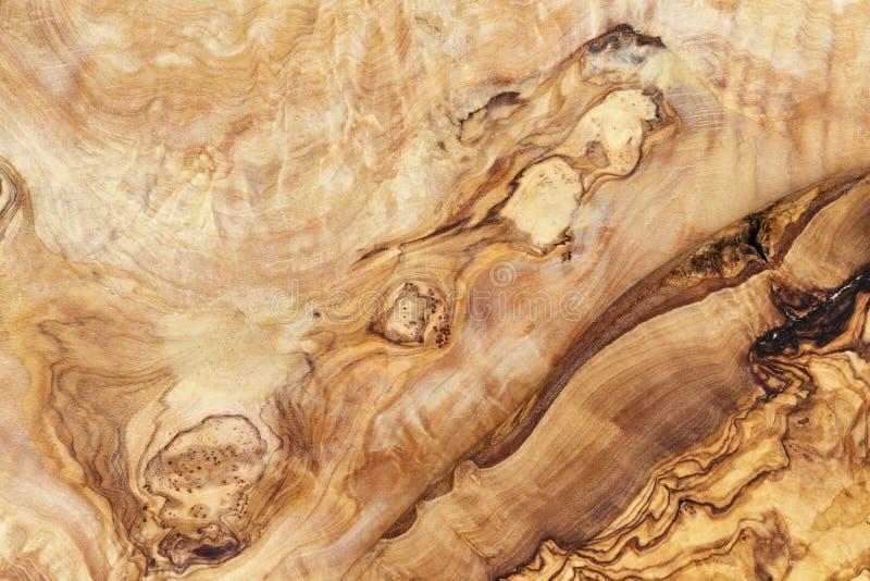 橄榄色的木委员会高详细的纹理  免版税图库摄影
