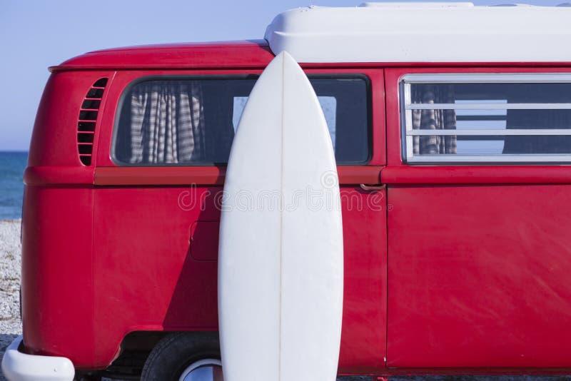 水橇板和搬运车 库存图片