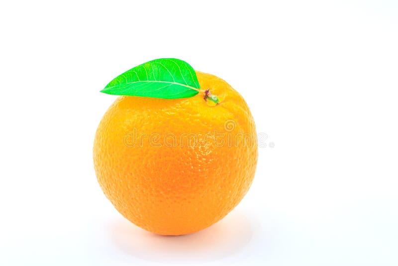 橘子特写 免版税库存图片
