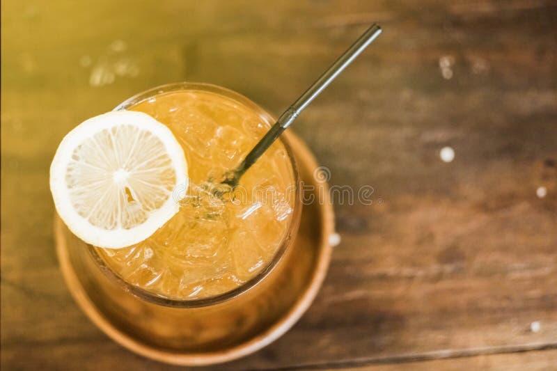 橙汁过去 库存照片