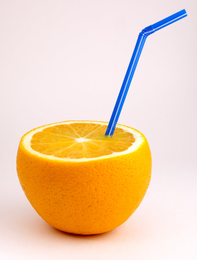 橙汁 库存照片