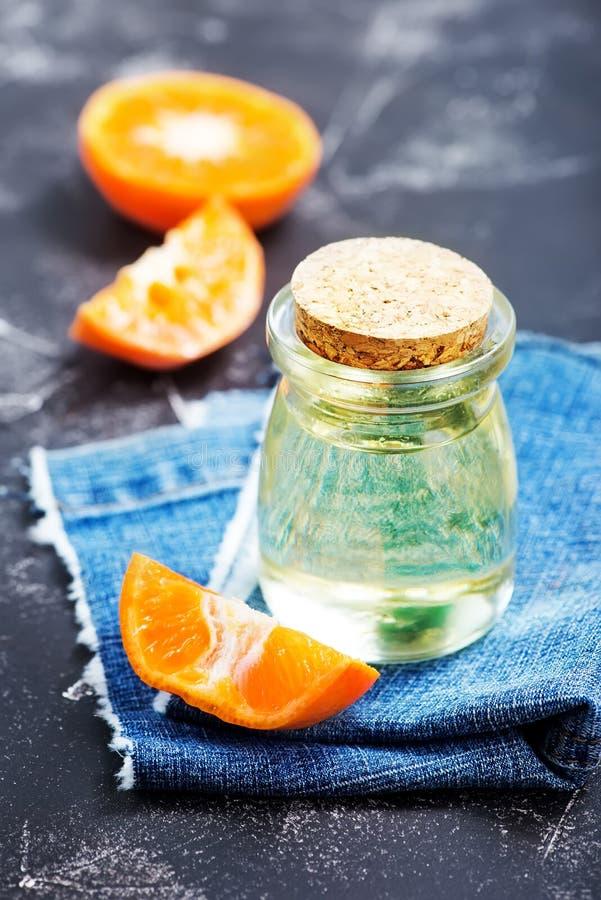 橙油 免版税库存图片