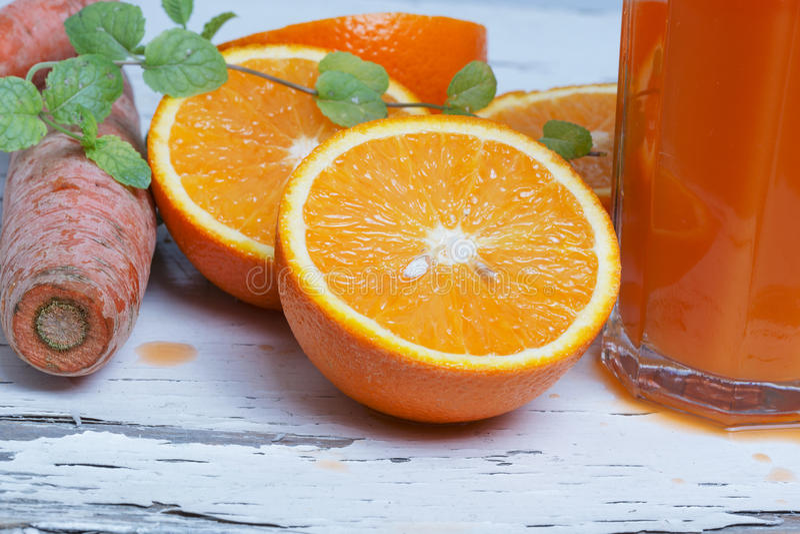 橙色健康 免版税图库摄影