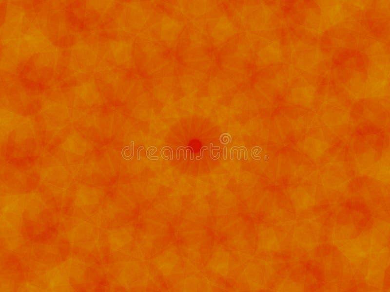 橙色和红色背景 库存图片