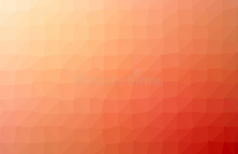 橙色多角形样式,包括三角 o 三角设计为 皇族释放例证