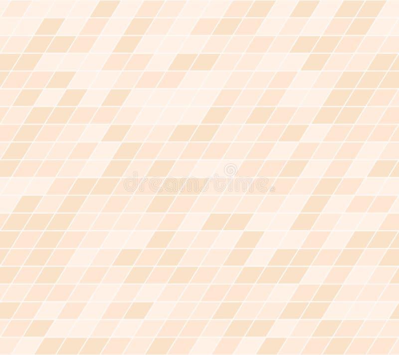 橙色平行四边形样式 1866根据Charles Darwin演变图象无缝的结构树向量 库存例证