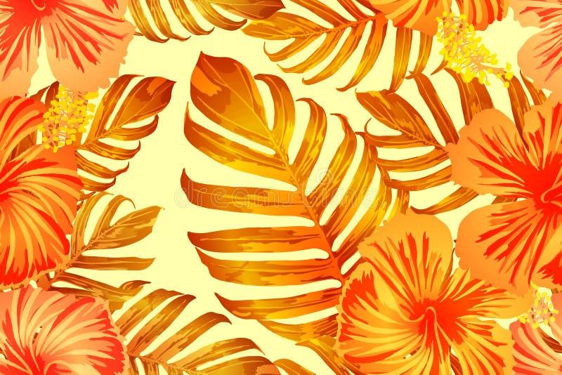 橙色异乎寻常的样式 皇族释放例证