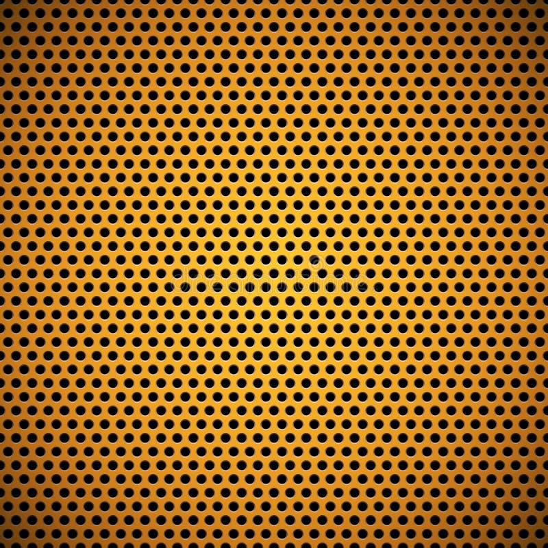 Download 橙色无缝的圈子穿孔的格栅纹理 向量例证. 插画 包括有 抽象, 任命的, 行业, 设计, 界面, 金子, 无缝 - 30336623