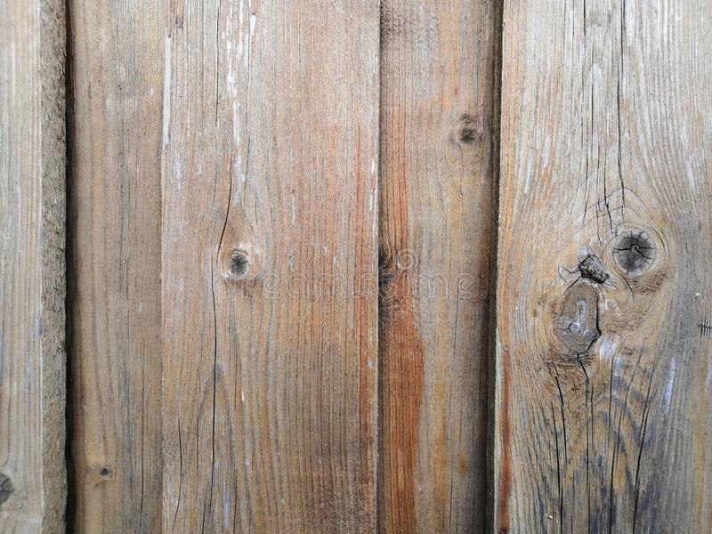 橙色木篱芭的纹理黑,灰色和 图库摄影