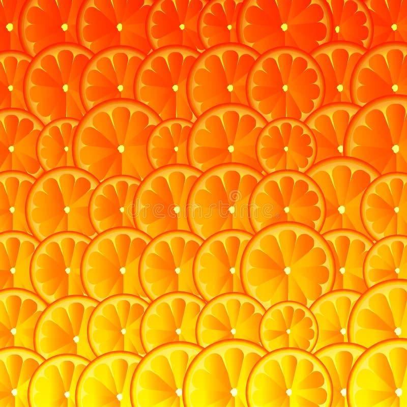 橙色柠檬葡萄柚艺术背景 也corel凹道例证向量 皇族释放例证