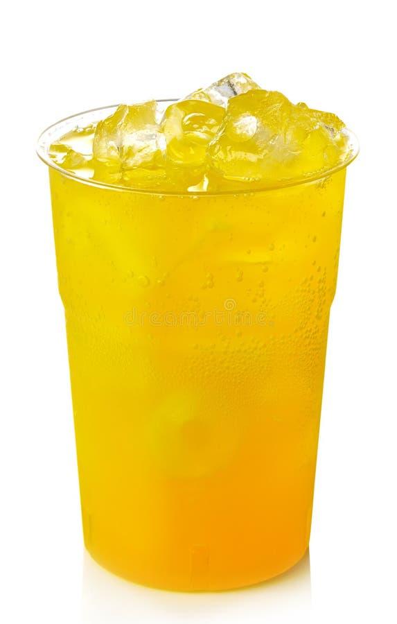 橙色柠檬水 免版税库存照片