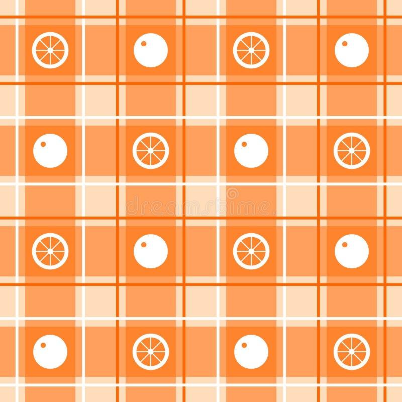 橙色模式 免版税图库摄影