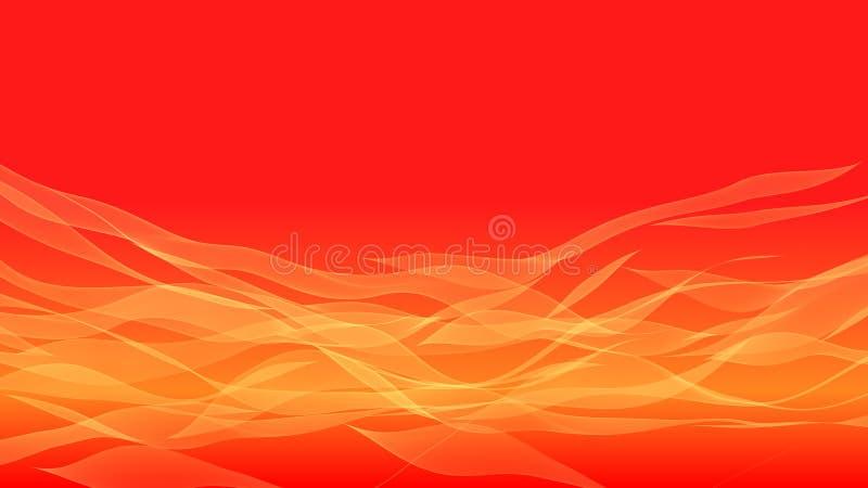 橙色横幅背景.