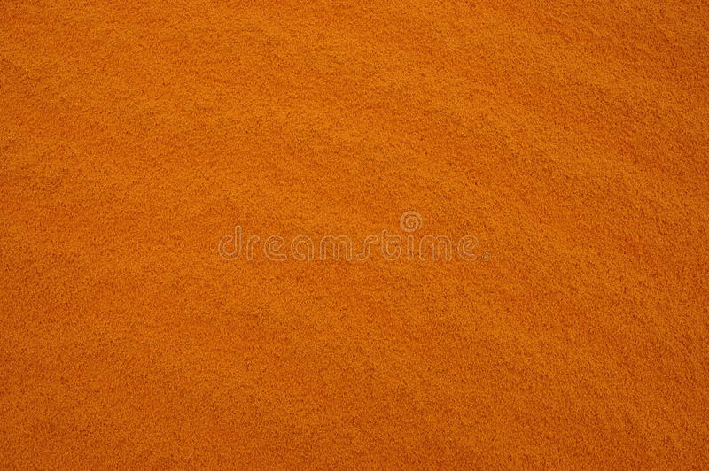 橙色沙子 库存照片