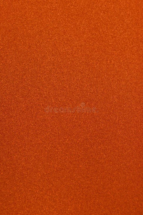 橙色沙纸样式 图库摄影