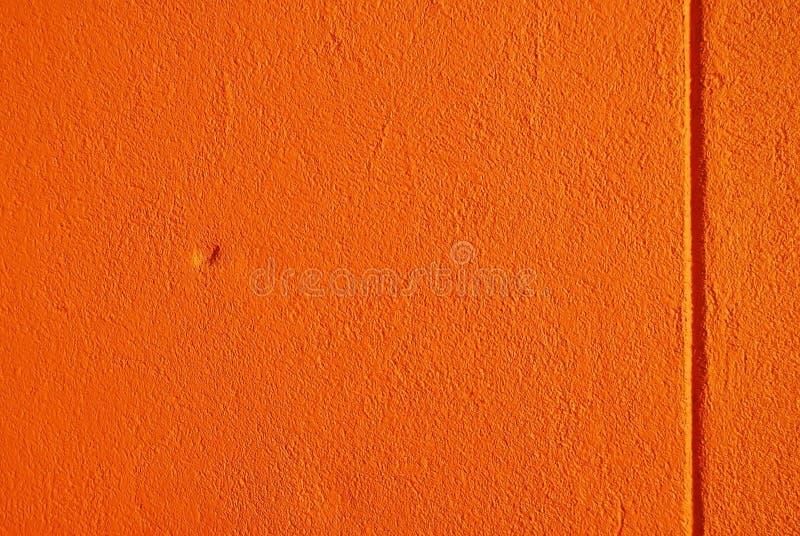 橙色灰泥纹理 免版税库存图片