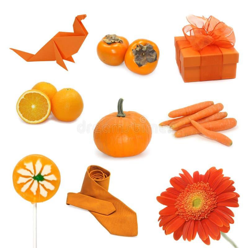 橙色的图象 库存图片