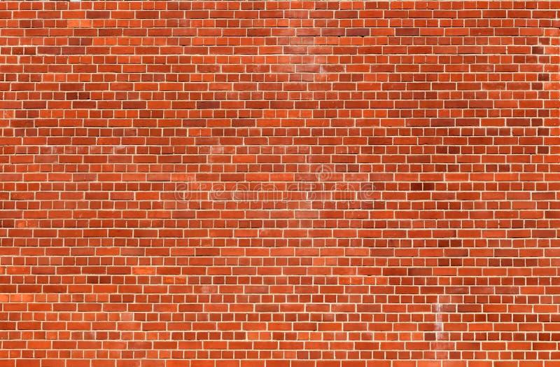 橙色砖墙纹理背景 免版税图库摄影