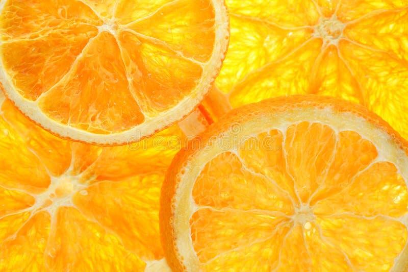 橙色窗格 库存照片