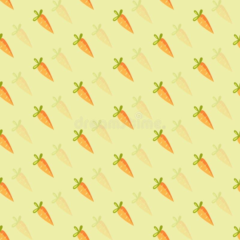 橙色红萝卜背景  皇族释放例证