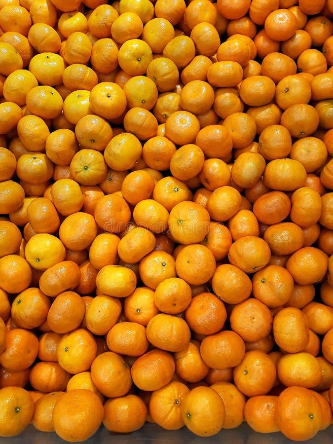 橙色背景 免版税库存照片