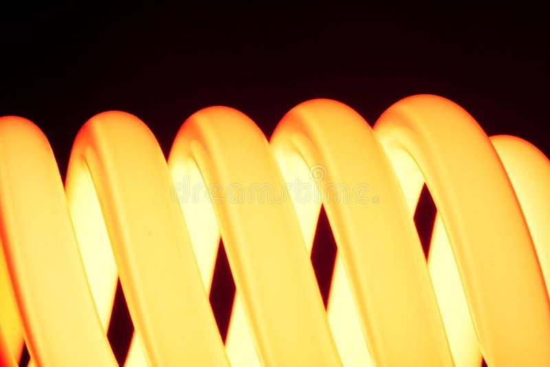橙色螺旋 库存图片