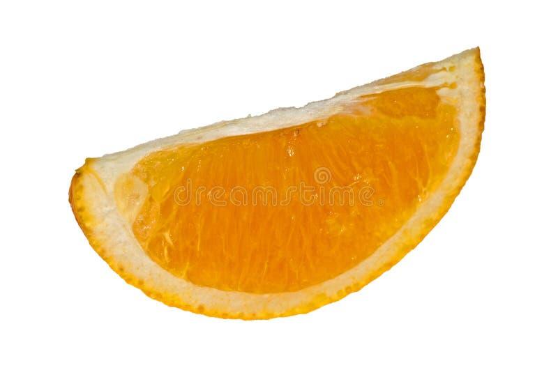 橙色部分 免版税库存图片