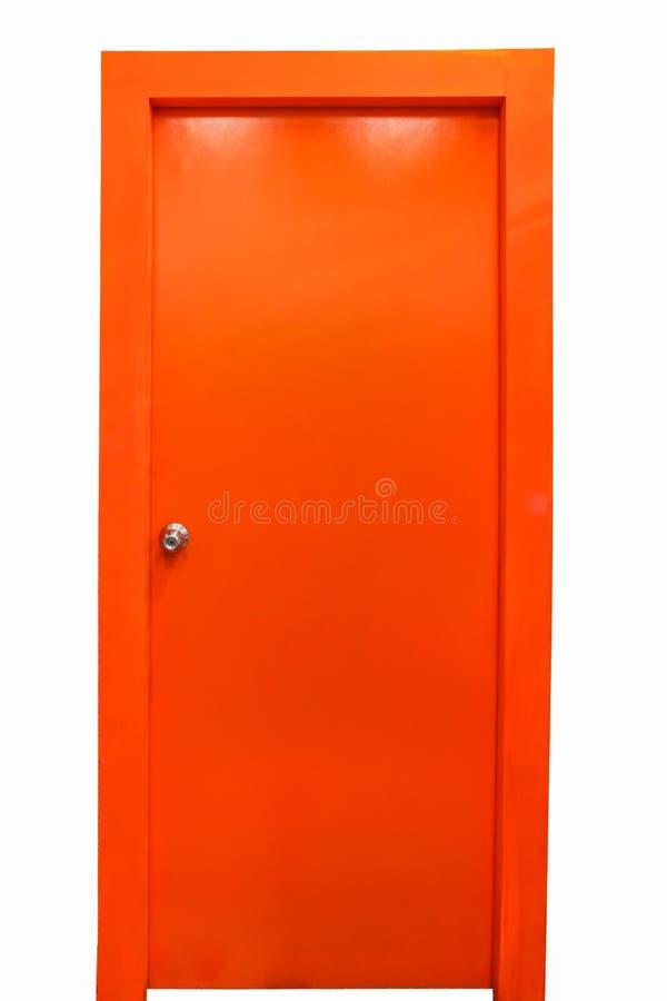 橙色门 图库摄影