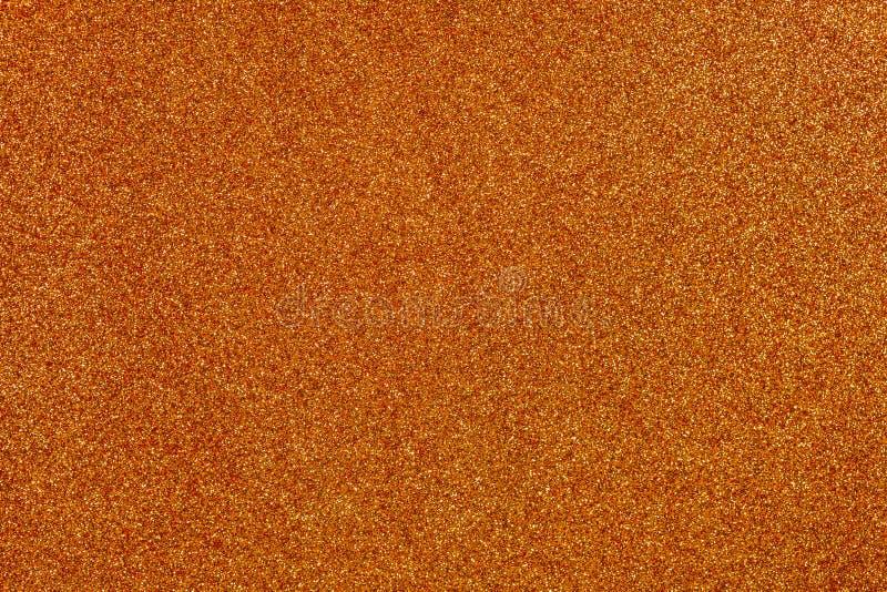 橙色闪烁背景 库存照片