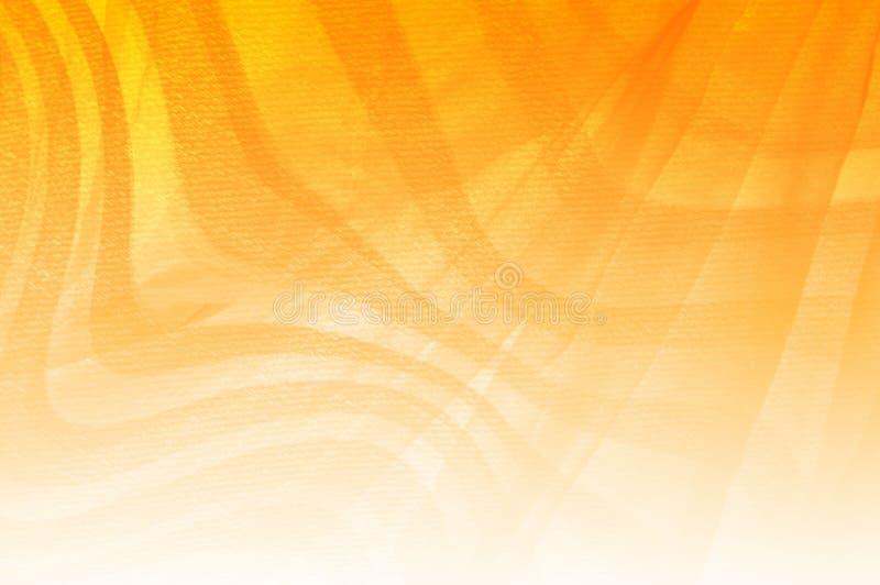 橙色颜色样式背景 库存例证