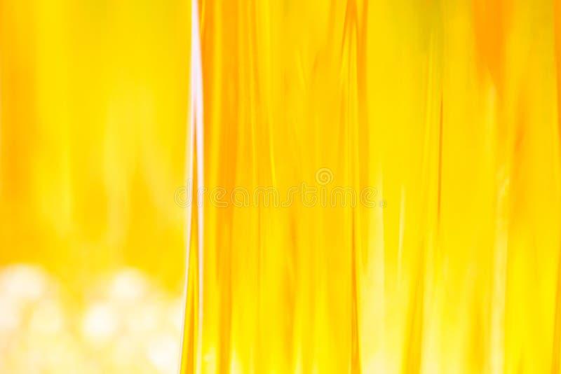 橙色玻璃状抽象背景 库存照片