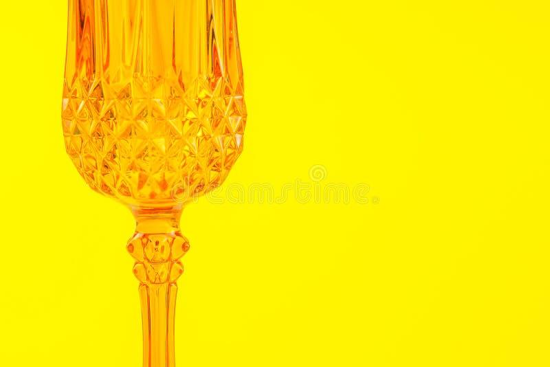 橙色玻璃状装饰背景 免版税库存图片
