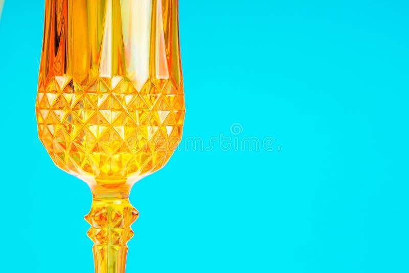 橙色玻璃状patternal背景 库存照片