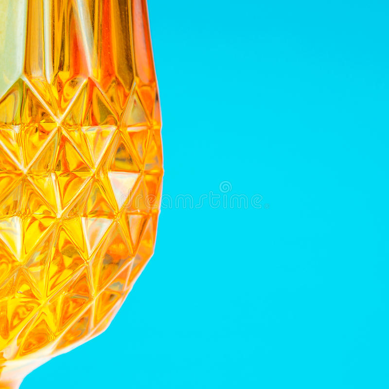 橙色玻璃状patternal背景 图库摄影