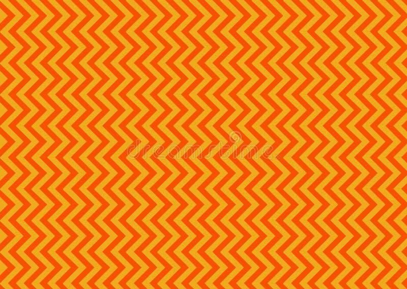 橙色V形臂章 免版税库存照片