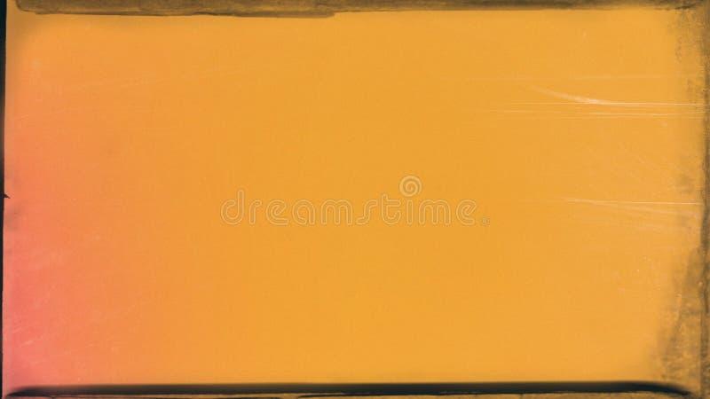 橙黄色纸美好的典雅的例证形象艺术设计背景 库存例证