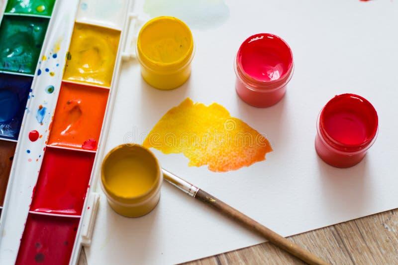 橙黄范围 免版税图库摄影