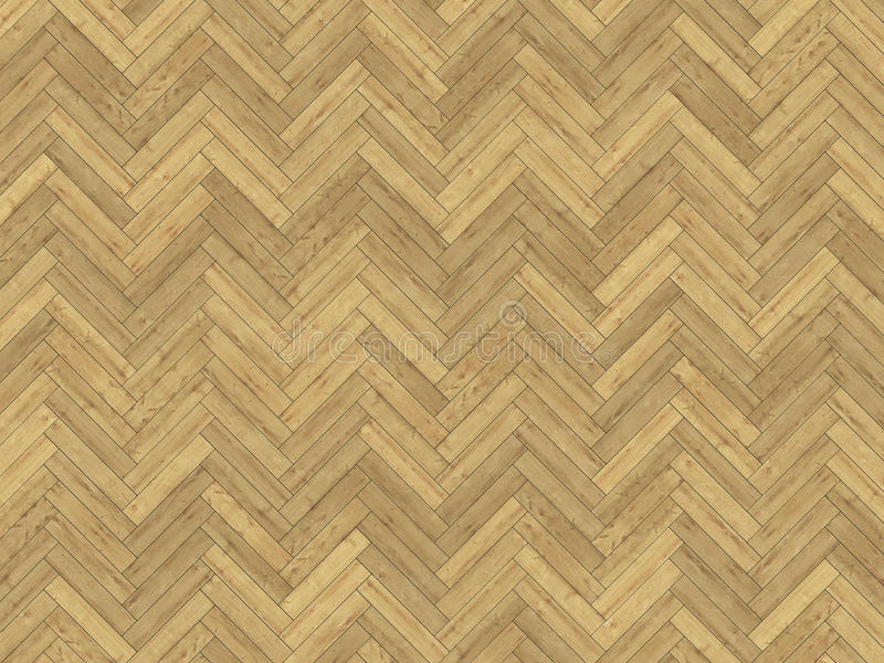 橡木人字形木条地板纹理 免版税库存图片
