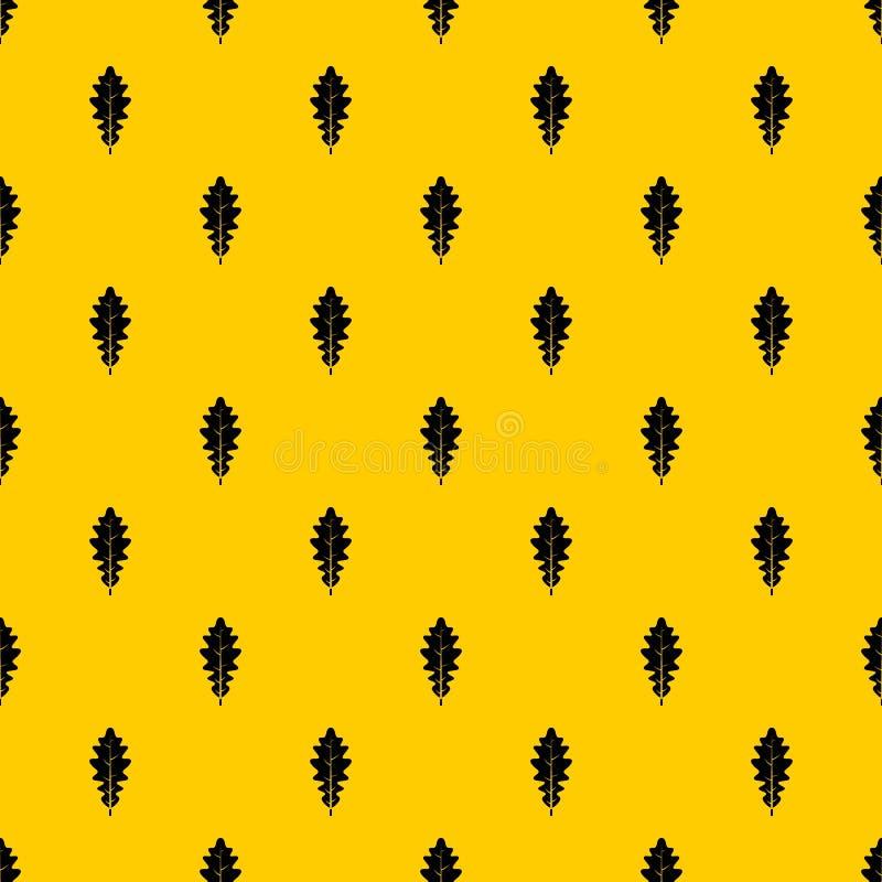 橡木叶子样式传染媒介 皇族释放例证