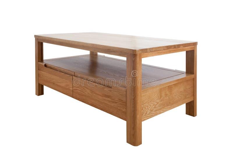 橡木桌 库存图片