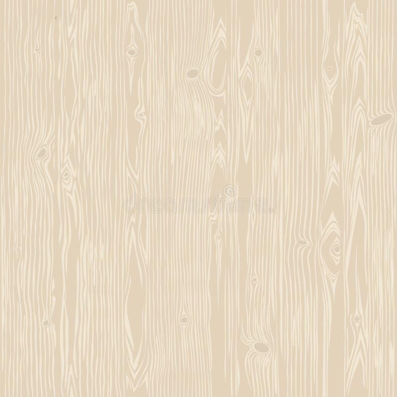 橡木被漂白的无缝的纹理 库存例证