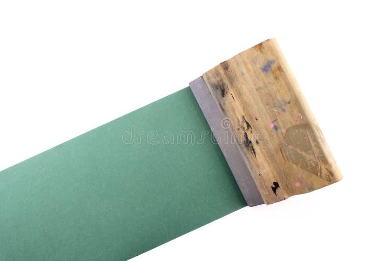 橡皮刮板 免版税库存图片