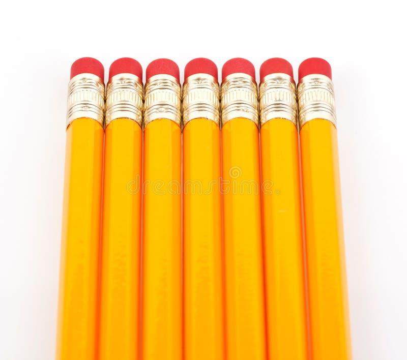 橡皮擦铅笔 免版税库存照片