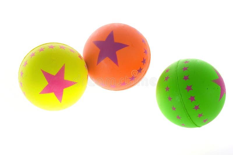 橡胶的球 免版税库存照片