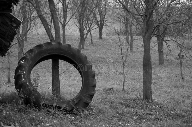橡胶轮胎 免版税库存图片