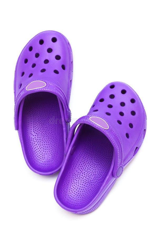 橡胶鞋子 免版税图库摄影